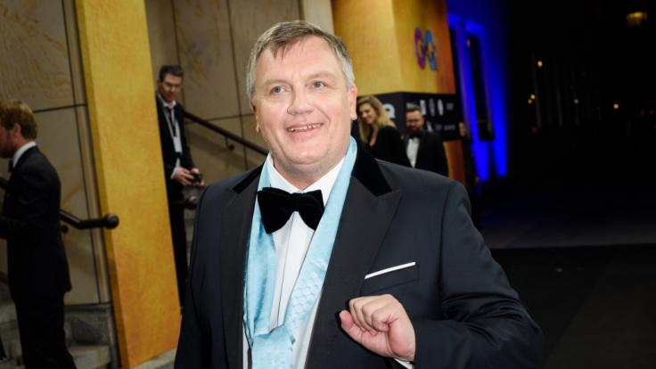 """Hape Kerkeling,Komiker, Autor und Schauspieler, kommt zur Gala und Preisverleihung """"Men of the Year"""" des Magazins GQ. (Foto)"""