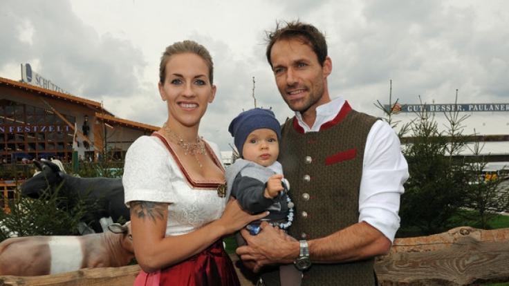 Mit der Fußballerin Melissa Thiem hat Hannawald zwei Kinder. (Foto)