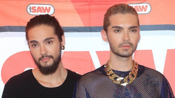Tom Kaulitz (links) und sein Zwillingsbruder Bill Kaulitz sind die Gründungsmitglieder von