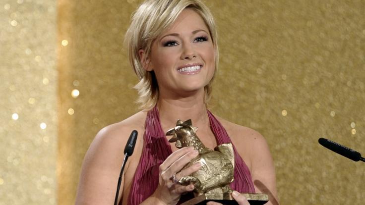 Helene erhält 2010 abermals die Goldene Henne. (Foto)