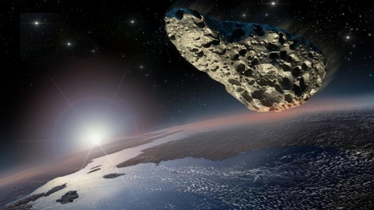 Am 26.12. kracht ein Asteroid an der Erde vorbei. (Foto)