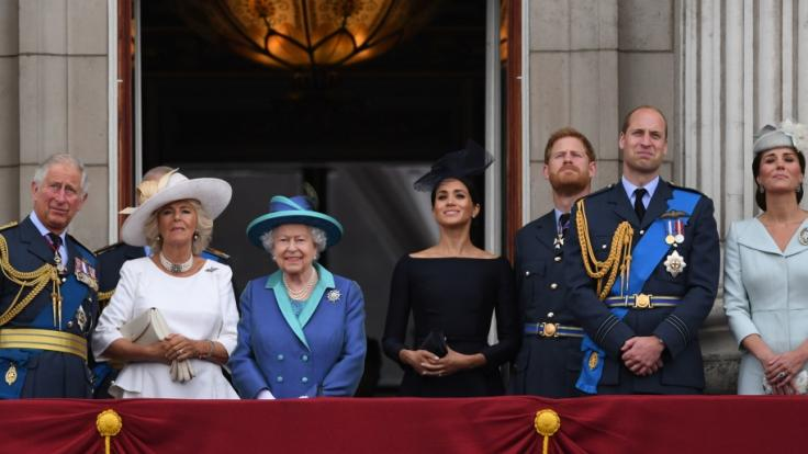 So feierten die Royals 2018 den Queen-Geburtstag. (Foto)