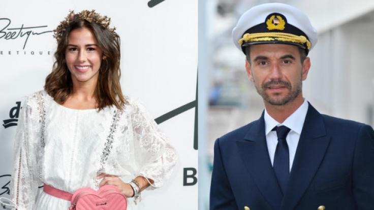 Sind Sarah Lombardi und Florian Silbereisen heuern im Dezember beim ZDF-Traumschiff an.
