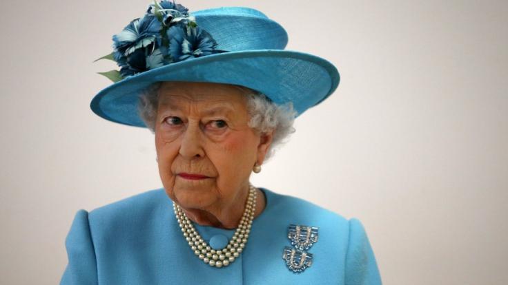 Die Skandale und Skandälchen des britischen Königshauses trieben Queen Elizabeth II. die Sorgenfalten auf die Stirn. (Foto)