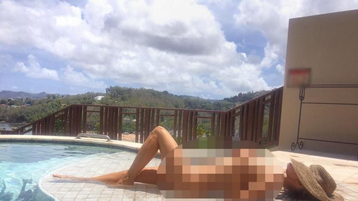 Joanna Krupa zeigt gern, was sie hat. (Foto)