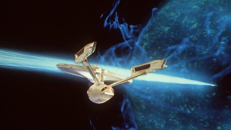 """Undatiertes Archivbild zeigt Flaggschiff der Serie """"Star Trek"""", die USS Enterprise. (Foto)"""