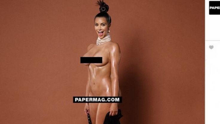 Will das Internet zum Platzen bringen: Kim Kardashian.