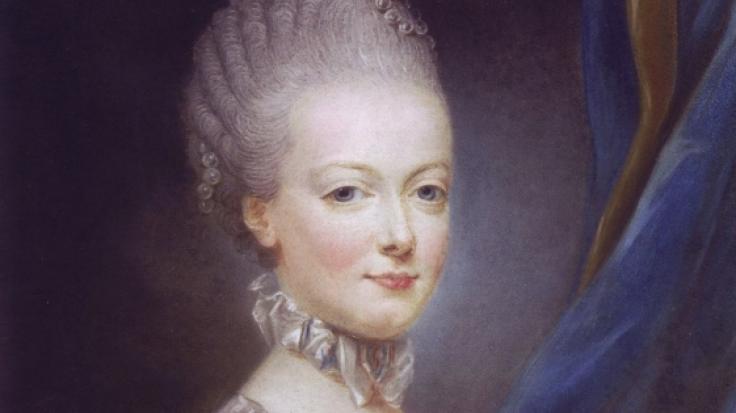 1769: Ein Jahr vor ihrer Hochzeit mit dem französischen Thronfolger
