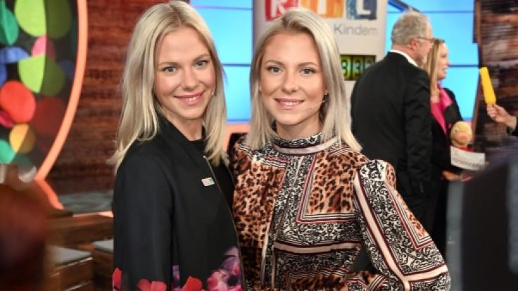 Die Schauspielerinnen Cheyenne (l) und Valentina Pahde (r) stehen auch in diesem Jahr wieder für