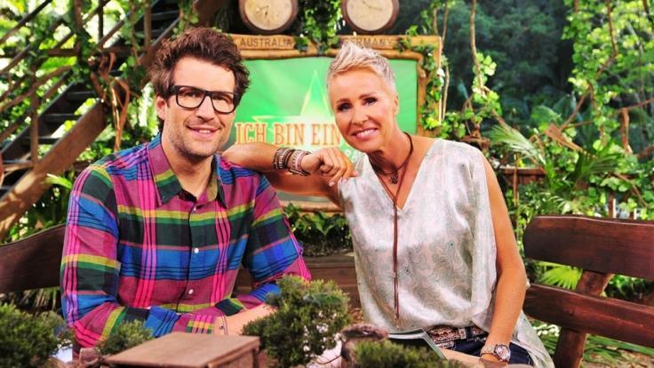 Das Moderatoren-Duo Sonja Zietlow und Daniel Hartwich führen auch in diesem Jahr wieder durch die RTL-ShowIch bin ein Star - Holt mich hier raus!