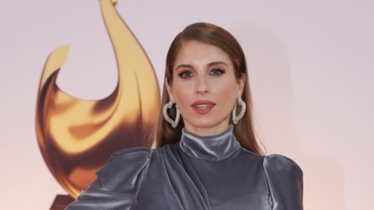 """Cathy Hummels bei der Verleihung der """"Goldenen Henne"""". (Foto)"""
