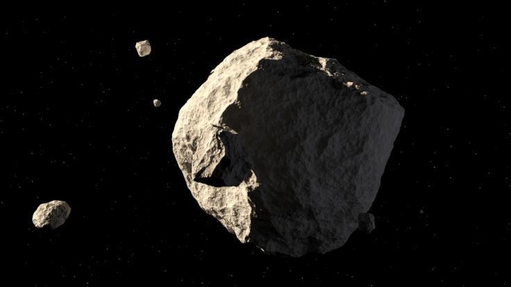Vier Asteroiden fliegen in dieser Woche an der Erde vorbei.