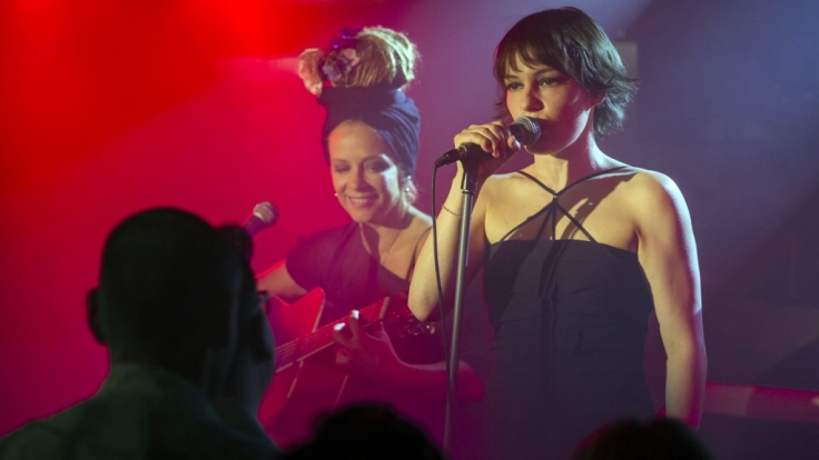 """Im ARD-Film """"Freundinnen"""" spielte Nicolette Krebitz Sängerin Sascha. (Foto)"""