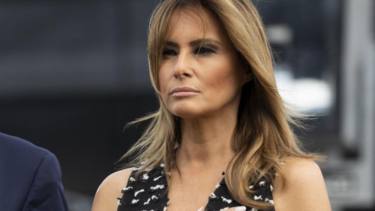 Melania Trump hatte einst behauptet, kein Kindermädchen für Sohn Barron zu haben.