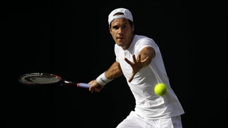 Tommy Haas' letzter Auftritt auf deutschem Boden bei den German Tennis Championships am Hamburger Rothenbaum. (Foto)