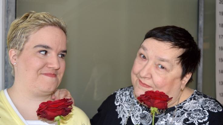 Beate (l.) und Mama Irene Fischer waren die Stars des RTL-Formats