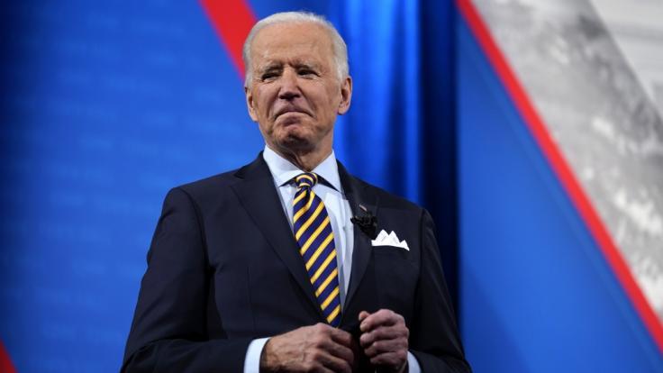 Joe Biden löst Shitstorm wegen eines Auftritts aus. (Foto)