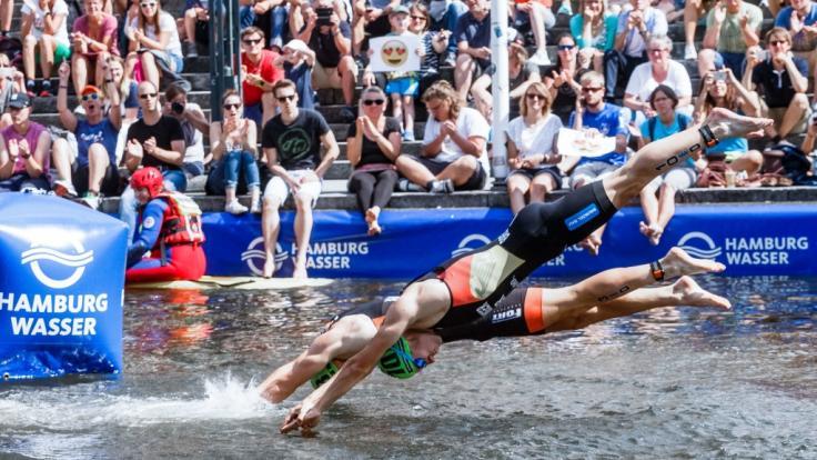 Am Wochenende steigt der Hamburg Wasser World Triathlon 2019.
