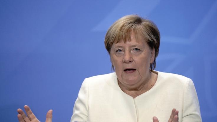 Angela Merkel spricht sich gegen einen zweiten Lockdown aus.