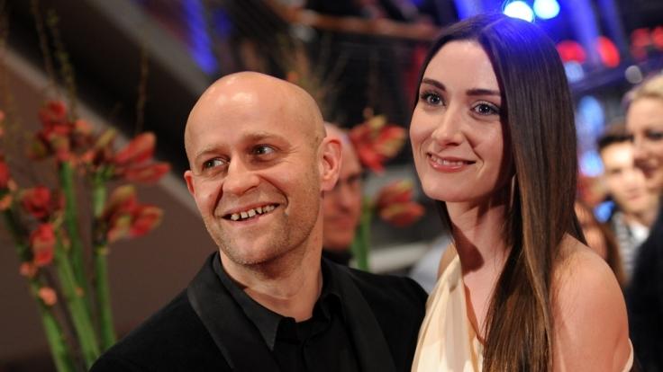 Jürgen Vogel und seine Freundin Michelle Gornick während den 63. Internationalen Filmfestspielen in Berlin am 7. Februar 2013. (Foto)
