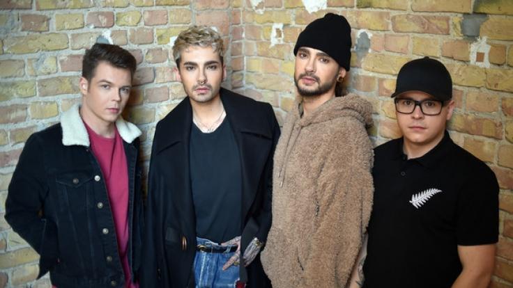 Die Musiker der Band Tokio Hotel (Georg Listing , Bill Kaulitz, Tom Kaulitz und Gustav Schäfer) veröffentlichten ihr neuestes Album