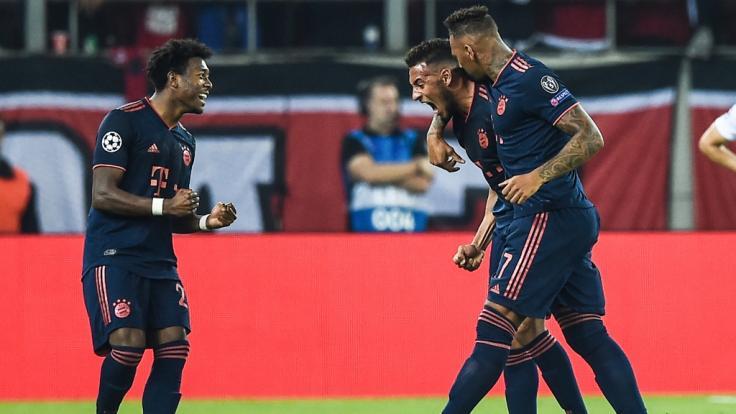 FC Bayern München gewinnt auswärts gegen Olympiakos Piräus mit 3:2 (Foto)