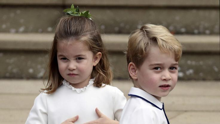Prinzessin Charlotte und Prinz George von Cambridge