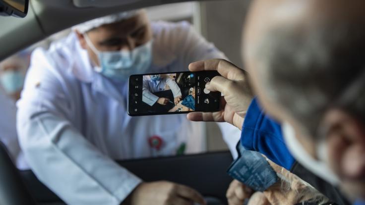 Können Handys bald Viren erkennen? (Foto)