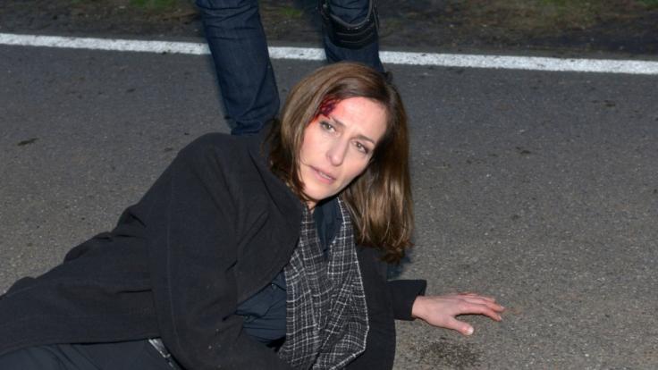 Katrin (Ulrike Frank) hat alles getan, um Jasmin die weitere Flucht zu ermöglichen... (Foto)