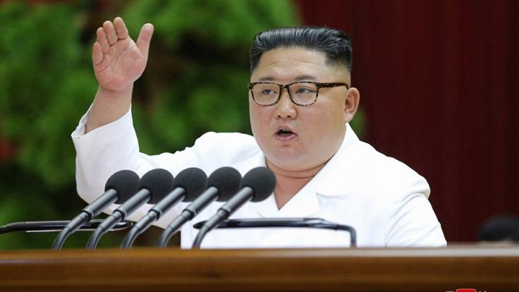Nordkoreas Machthaber Kim Jong Un hat angeblich höchst bizarre Angewohnheiten, was die Verrichtung gewisser Geschäfte betrifft. (Foto)