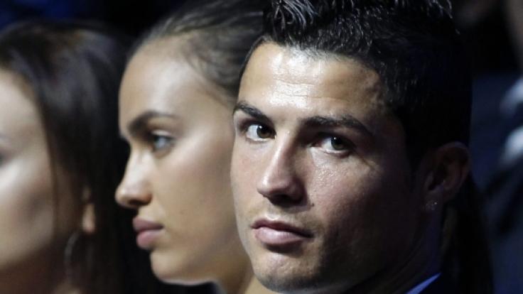 Die Schöne und der Star: Cristiano Ronaldo und seine Freundin Irina Shayk.