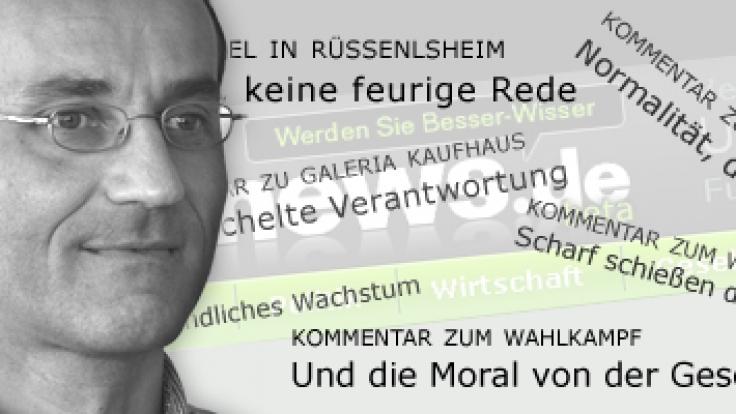 News.de-Redakteur Herbert Mackert (Foto)
