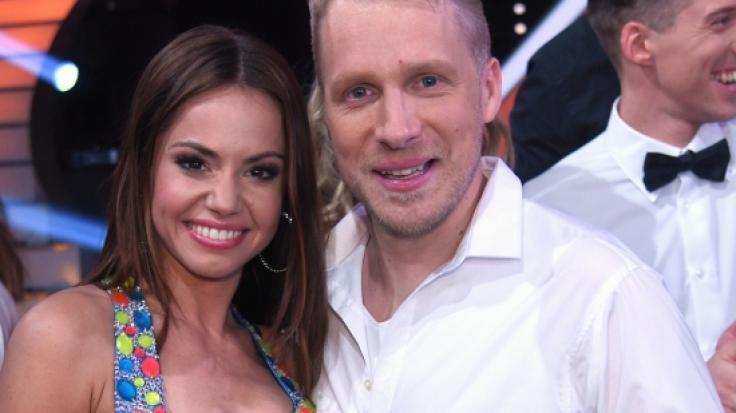 Oliver Pocher hat mit Geschmacklos-Witz über seine Tanz-Partnerin Christina Luft für Aufregung gesorgt. (Foto)
