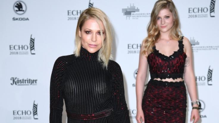 Sängerin Michelle (l) und Tochter Marie Reim bei der Echo-Verleihung 2018.