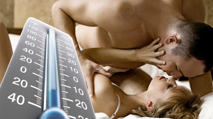 Die Zimmertemperatur entscheidet mit, wie viel Spaß wir beim Sex haben.