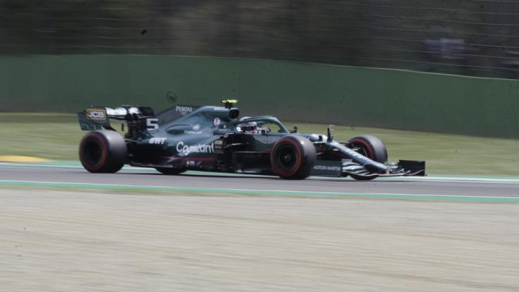 Sebastian Vettel erwischte in Imola keinen guten Tag.