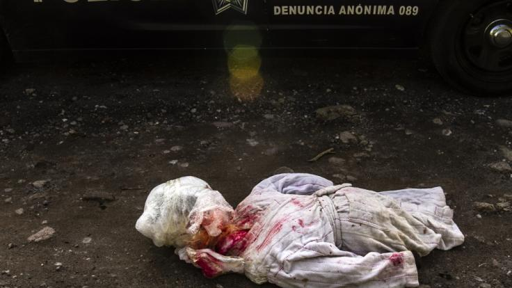 2018 wurden in Mexiko laut offiziellen Angaben rund 33 300 Menschen umgebracht - 15,5 Prozent mehr als im Vorjahr.