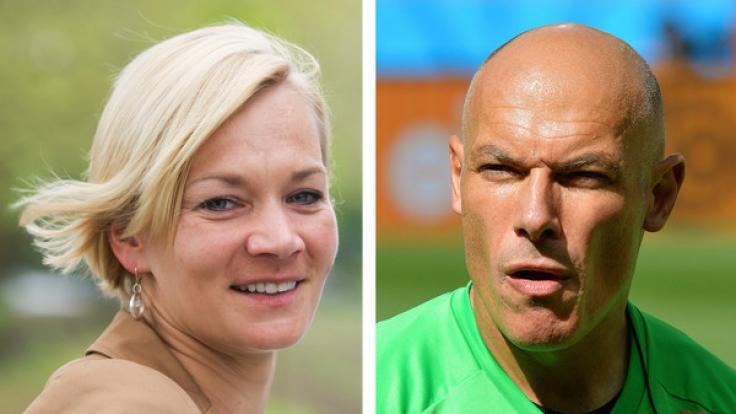 Schiedsrichter-Traumpaar: Bibiana Steinhaus und Howard Webb (Foto)