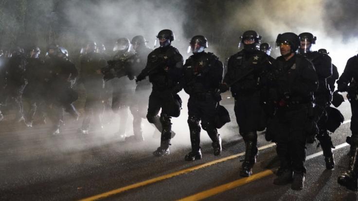 In Salt Lake City haben Polizisten einen Behinderten niedergeschossen. (Foto)