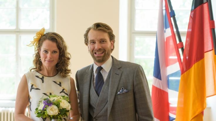 Prinz Georg-Constantin von Sachsen-Weimar-Eisenach und seine Ehefrau Olivia Rachelle Page waren seit Sommer 2015 verheiratet.