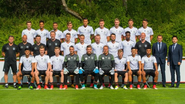 Die deutsche U21-Nationalmannschaft.