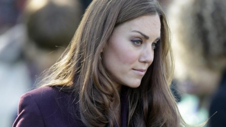 Kein Unschuldslamm: Kate Middleton hat US-Star Kim Kardashian eiskalt ignoriert.
