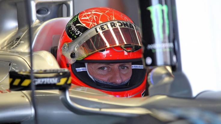 Michael Schumacher erholt sich in Lausanne.