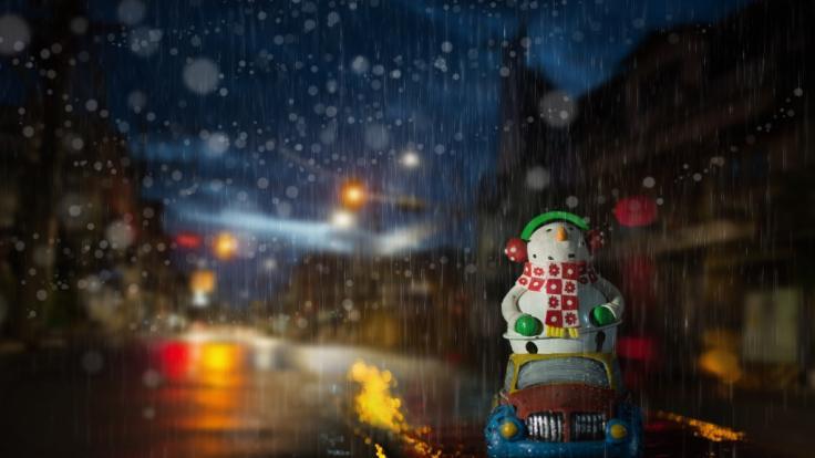 Droht uns an Weihnachten ein starker Sturm? (Foto)