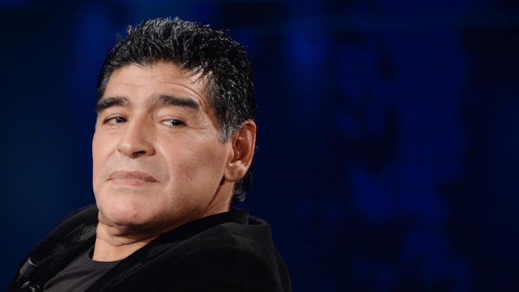 Diego Maradona hat bereits seine letzte Ruhe gefunden. (Foto)