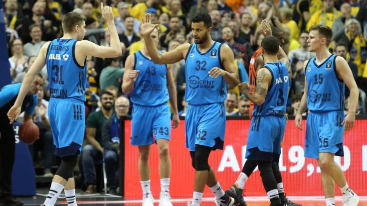 ALBA Berlin muss im Eurocup 2019 gegen Valencia ran. (Foto)
