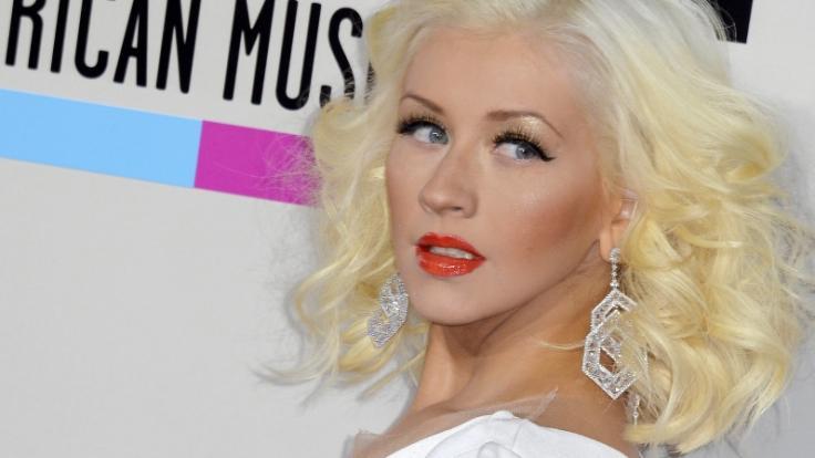 Christina Aguilera hat einen ganz besonderen Gruß für ihre Fans parat. (Foto)