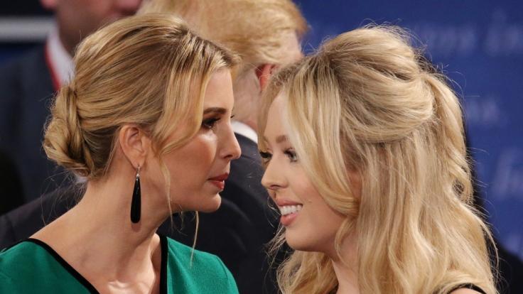 Die Töchter von US-Präsident Donald Trump, Tiffany und Ivanka Trump, traten während der Unruhen in der US-Hauptstadt Washington, D.C. ins Fettnäpfchen. (Foto)