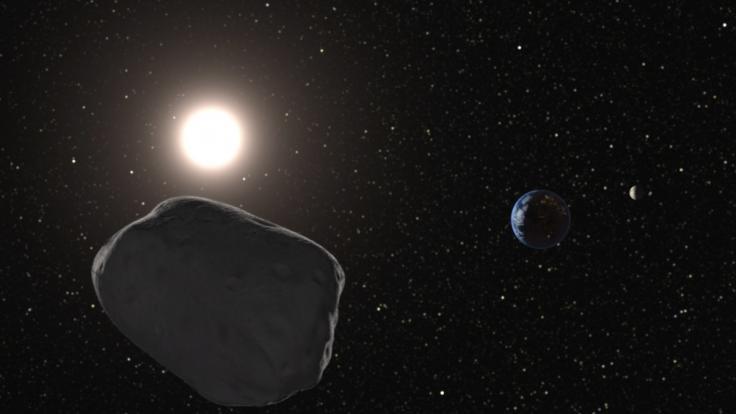 Asteroiden können wir die Erde gefährlich werden. (Foto)