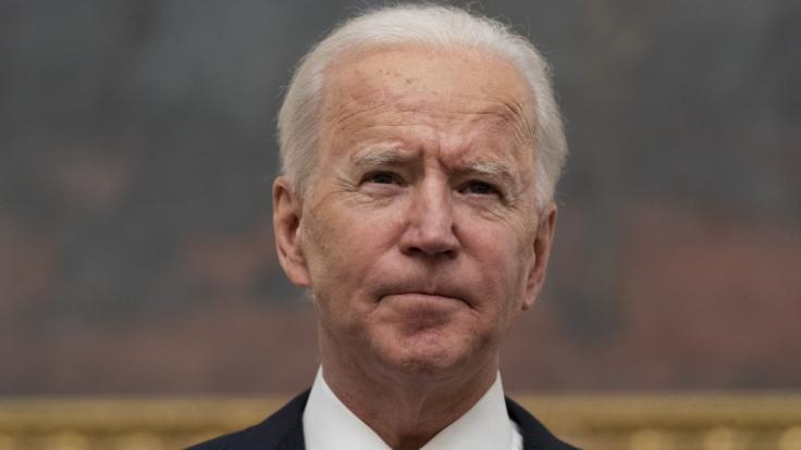 Joe Biden hat im Oval Office erst einmal klar Schiff gemacht. (Foto)